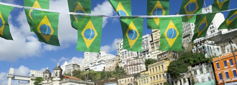 Straat in brazilië